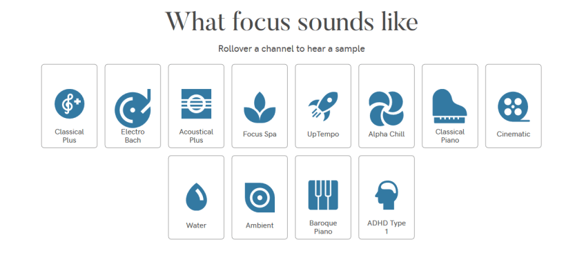 Focus Will- Apps To Help In Focus , Sounds