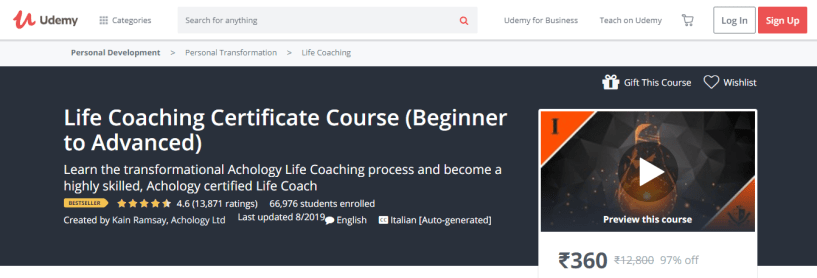 8 Best Life Coaching Courses & Certification- Life Coaching Certificate Course