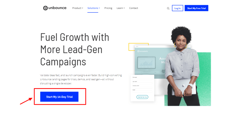 Unbounce Review - Growth hack