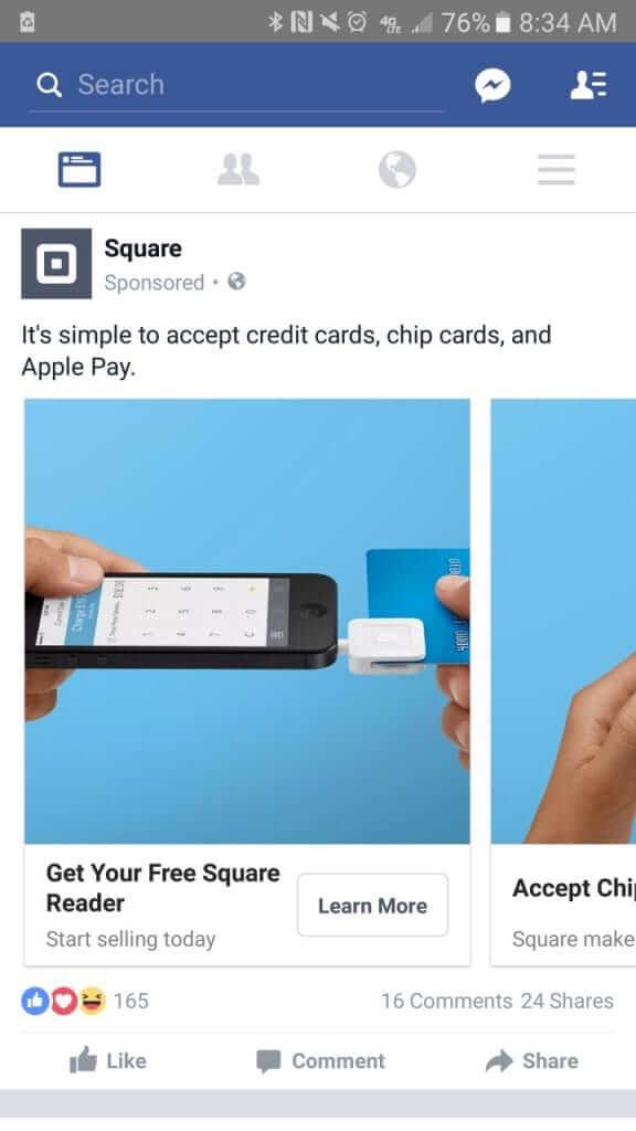 Facebook Ad - square