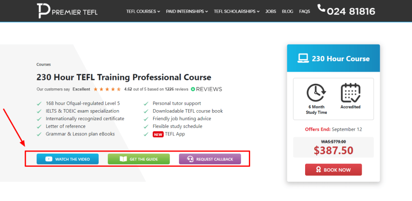 230 Hour TEFL Training Professional Course - Premier TEFL Review