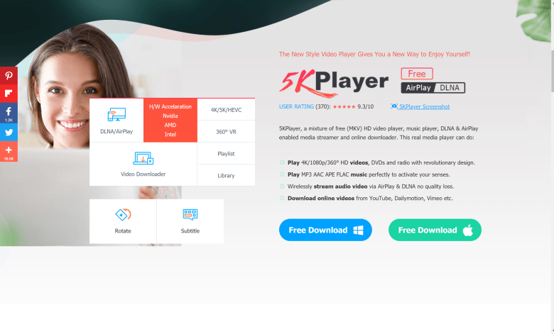 5kplayer review for windows