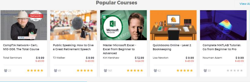 simpliv Review - Courses