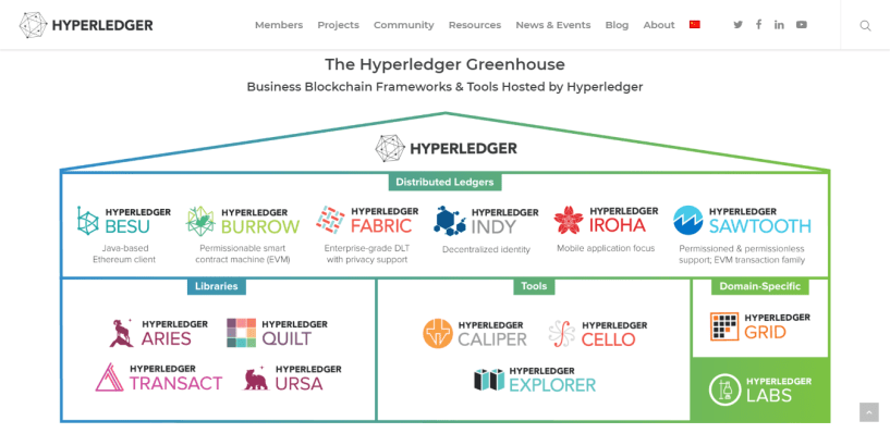 Linux Foundation Review -Hyperledger greenhouse
