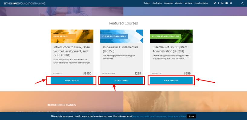 Linux Foundation Review - courses