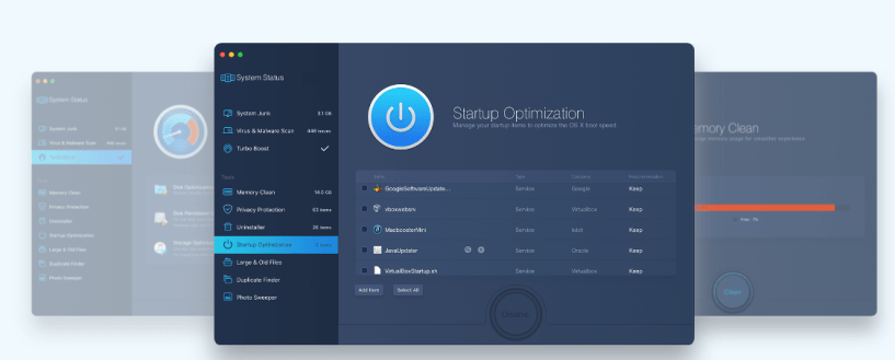 iObit's MacBooster Review-Startup Optimization