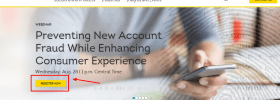 Transunion Review - new account register