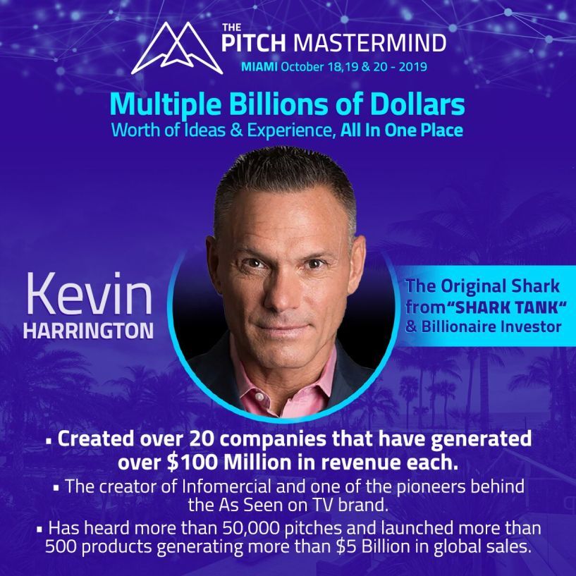 the pitch mastermind Kevin