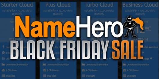 Name hero black friday sales