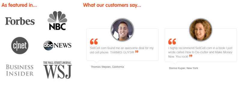 SellCell Review - Customer Reviews