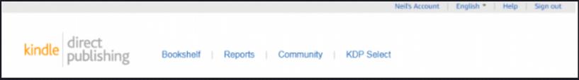 Start A Publishing Company - KDP Account