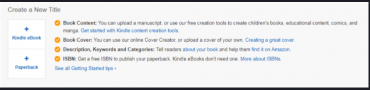Start A Publishing Company With KDP