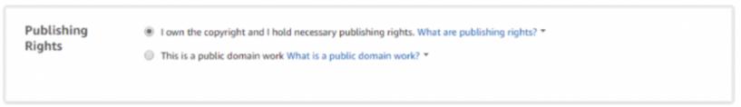 Start A Publishing Company- Publishing Rights