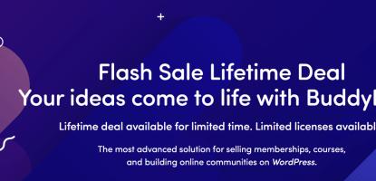 BuddyBoss Lifetime Offer Sale
