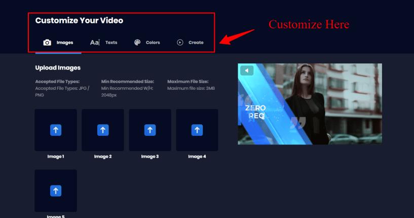 Viddyoze Review - Customization