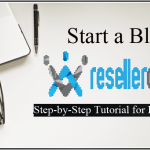 Start a Blog on ResellerClub