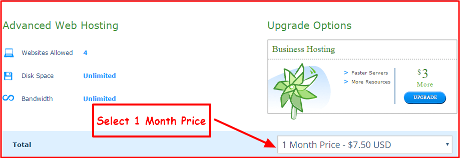 Hostwinds Promo Code (monthly billing cycle)