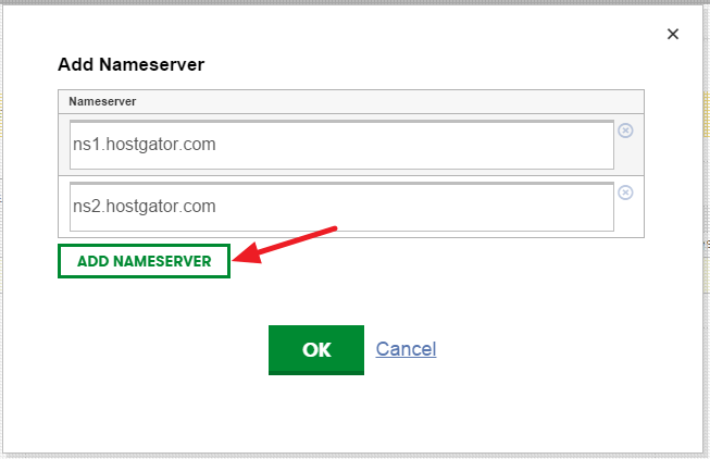 connect godaddy domain to hostgator - final step