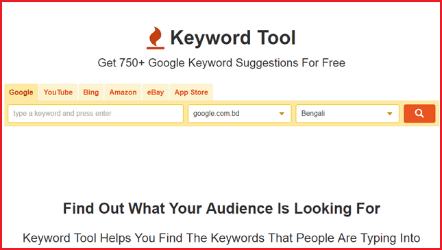 Best Keyword Research Tools [For SEO] 2017 - keyword tool.io