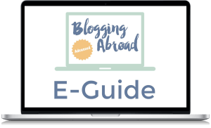 Blogging Abroad Advanced Course