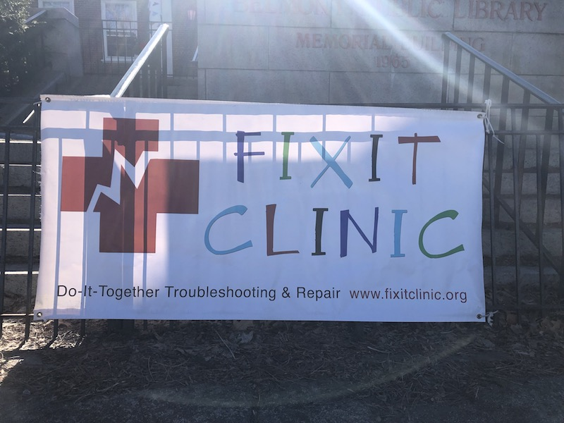 Bring out your (broken) Stuff! Belmont Fix-it Clinic Saturday!