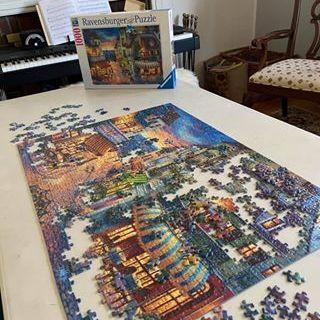 Town Scene Puzzle