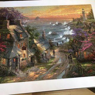 Rita's Puzzle - seaside scene