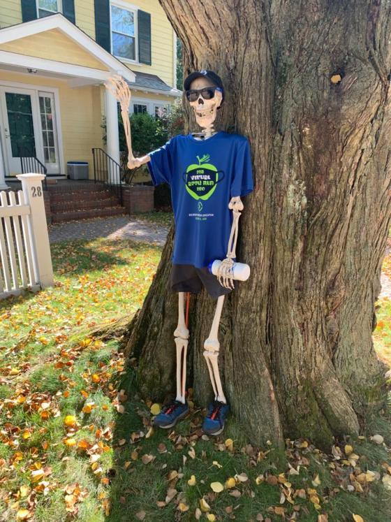 Belmont Apple Run Skeleton