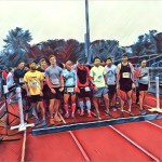 Runners Starting Line FBE Apple Run Belmont