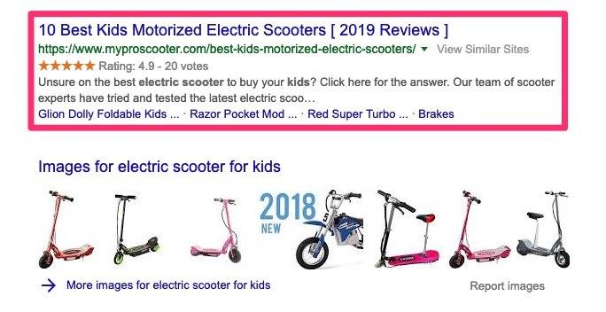 top ads seo keywords