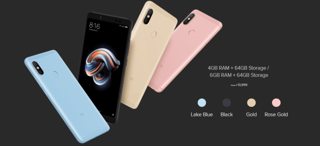 Xiaomi Redmi Note 5 Pro specifications and price