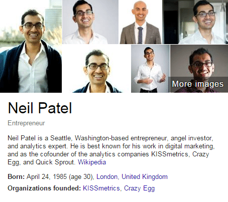 Neil Patel on Google's Autograph