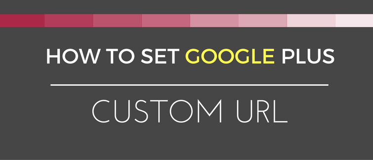 google plus custom url