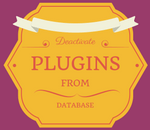 disable plugins from database