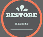 restore website from backup