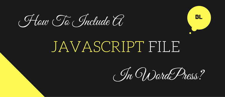 include a javascript file in wordpress
