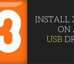 install xampp on a usb drive