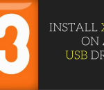 install xampp on a usb drive