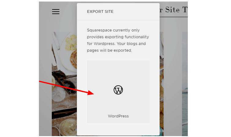 move to wordpress