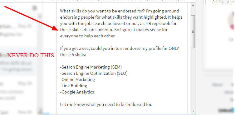 how to get more linkedin endorsements