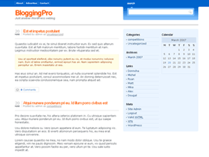 Blogging Pro Theme