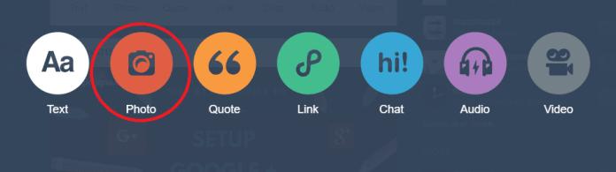 tumblr menu