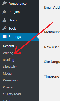 writing in wordpress ping submission sites list
