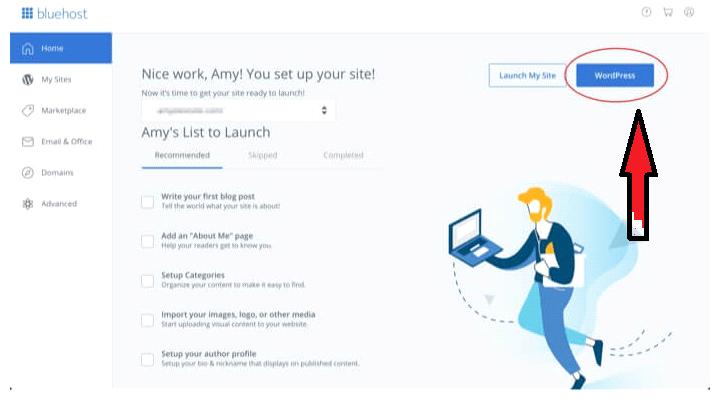 configure-website-in-bluehost