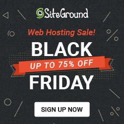 siteground black friday web hosting deal