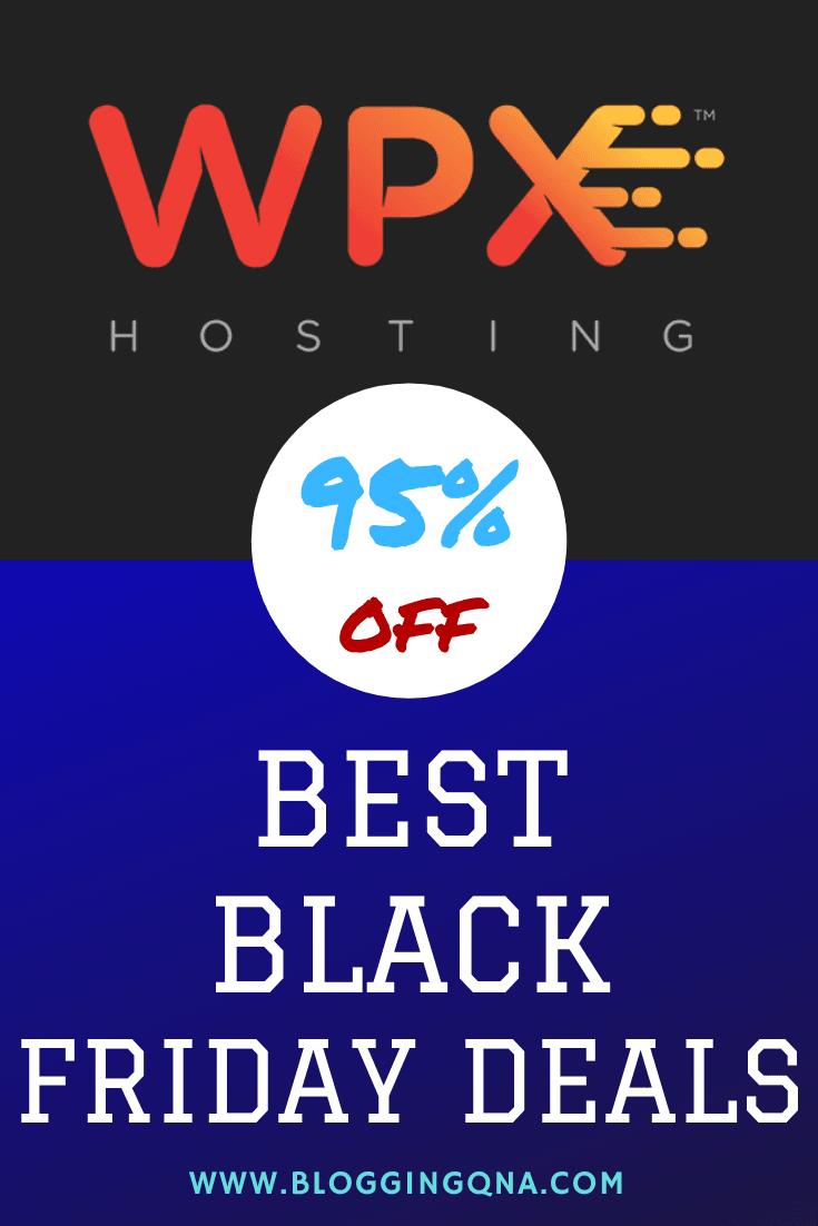 wpx hosting black friday web hosting deal