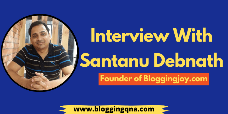 interview with santanu debnath
