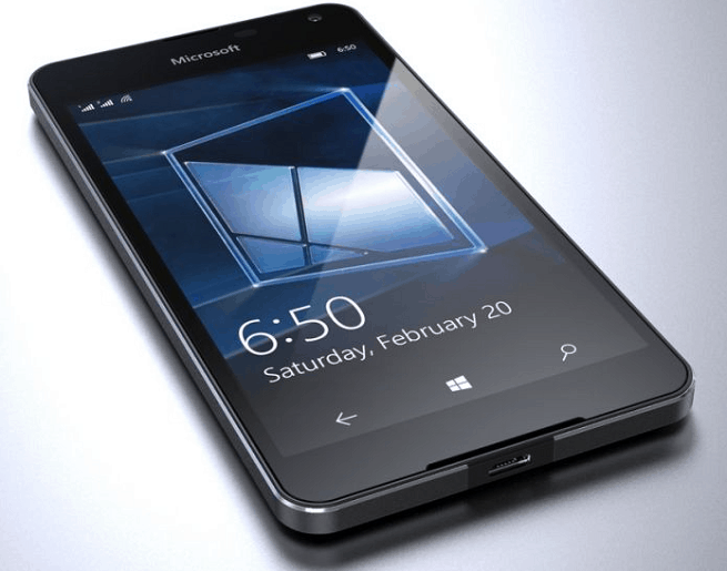 Microsoft Unveils Lumia 650 With 1GB RAM, Priced At 13,500