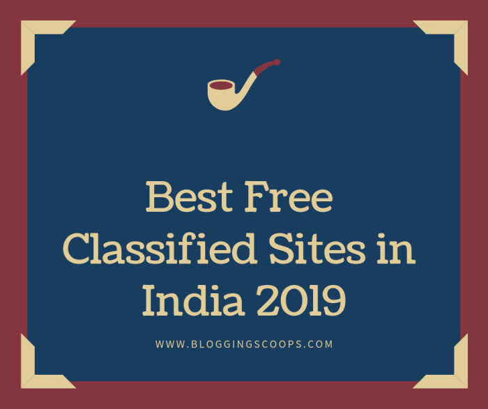 Best Free Classified Sites in India 2019