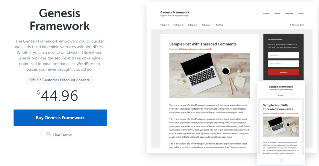 genesis-framework-for-wordpress